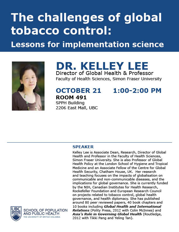 The-challenges-of-global-tobacco-control-poster